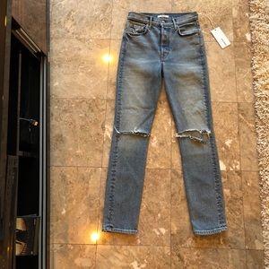 GRLFRND Karolina High Rise Skinny Jeans Size 26